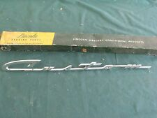 NOS 1956 Mercury Custom Nameplate FoMoCo 56