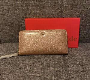 Kate Spade Mavis Street Rose Gold Neda Wallet