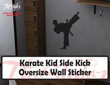 Karate Kid Sidekick Stance Oversize Wall Vinyl Sticker