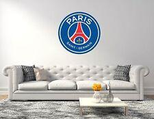 Paris SaintGermain PSG Ligue 1 Soccer Wall Decals Vinyl Sticker For Room Bedroom