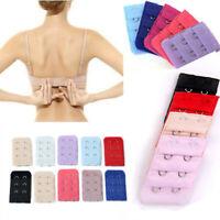 Random 10x Bra Extenders Strap Extension 2 Hooks Women's Bra Set New