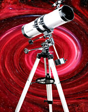 CELESTRON Power Seeker 127EQ Telescope,STURDY Tripod,FREE Stars & Planet Wheel!