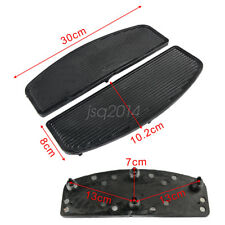 Rider Insert Floorboard Footboards Foot peg Footrest Pad Front Rubber For Harley