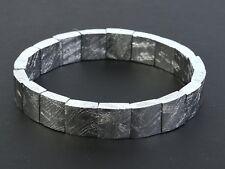 Meteorite Muonionalusta 10.5mm Bracelet Flexible - 54g #Other2043
