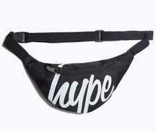 Hype Black Script Bum Bag (Black)