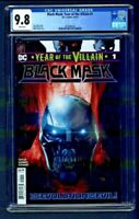 Black Mask Year of the Villain #1 CGC 9.8 1st First Printing Edition Tom Taylor
