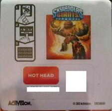 Hot Head Skylanders Giants Sticker/Code Only!