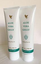 Bulk of 2 Forever Living Aloe Vera Gelly 4 fl.oz (118 ml),84.82% Aloe  Exp.2021
