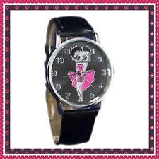 Betty boop wrist watch plus free handbag mirror