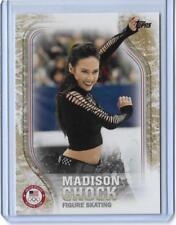 2018 TOPPS OLYMPICS MADISON CHOCK SKATING GOLD PARALLEL 25/25 UNIQUE  CARD US-44