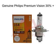 100X Genuine Philips Premium H4 bulbs 30% + more bright
