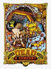 DEAD & COMPANY JUNE 9TH 2017 BOULDER COLORADO POSTER S/N AJ MASTHAY 1ST ED MINT!