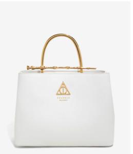 Loungefly Harry Potter Elder Wand Handbag White**PRESALE** Ships In Late OCT
