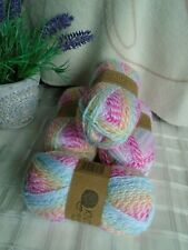 Knitting Essentials Job Lot 4 x 50g Gorgeous Baby Wool - Bright Pink shade