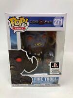 Funko Pop Games God of War Fire Troll # 271 Vinyl Figure NEW FP20