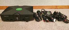 Microsoft Original Xbox 8Gb Black Console Softmodded UnleashX