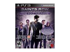 Saints Row The Third The Full Package Sony Playstation 3 PS3 Like New