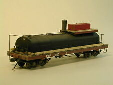On3/On30 WISEMAN MODEL SERVICES WEST SIDE LUMBER CO. OIL TANK CAR #5 KIT