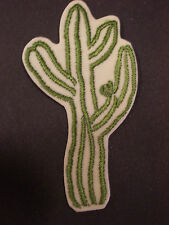 "LARGE CACTUS PLANT, 4 & 5/8"", EMBROIDERY APPLIQUE PATCH EMBLEM LOT (6 DOZEN)"