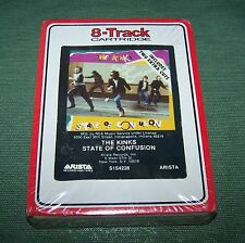 The Kinks State of Confusion 8 Track Tape SEALED 1983