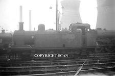 Railway Steam Photo:        47501 Ex LMS JINTY @ WILLESDEN 1963