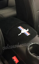 Ford Mustang 1994 - 2004 Center Console Cover Embroidered TRIBAR  Logo