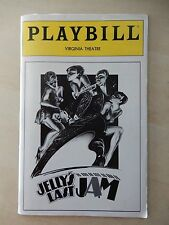 January 1993 - Virginia Theatre Playbill - Jelly's Last Jam - Gregory Hines