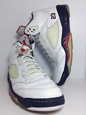 DS 2011 NIKE AIR JORDAN 5 V RETRO Olympic Independence Day 136027-103 sz 12