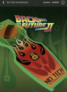 Veve NFT Back To The Future Part 2 - No Tech Hoverboard NFT #5903