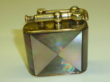 KW (KARL WIEDEN) LIFTARM LIGHTER WITH MOTHER OF PEARL COAT - 1930 - GERMANY-RARE