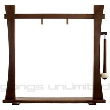 """Spirit Guide Wood Gong Stand for 20"""" to 22"""" Gongs"""