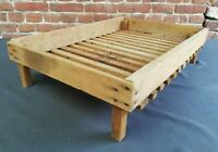 Caisse / clayette en bois idéale Déco Vintage H 16 L 64,5 l 45 cm réf 14