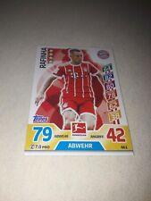 Match attax Karte Rafinha FC Bayern München  NEU