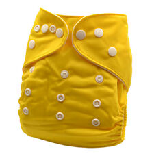 Leakproof Baby Boy Boyish Infant Yellow Colour Modern Cloth Nappy Covers (P2)