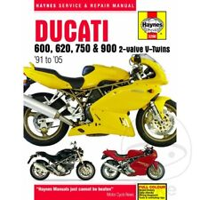 Ducati Supersport 750 SS Carenata 1997-1998 Haynes Service Repair Manual 3290