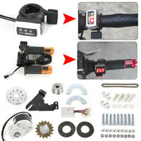 24V Electric Conversion Kit For Common Bike Left Chain Drive Custom 250W US HOT!