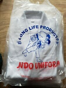 Judo Uniform GI Single Weave white Long Life Brand Size 3