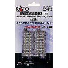 20-042 KATO Unitrack Voies Doubles 62mm N 1/160