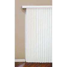 Patio Sliding Door Vertical Blind Shade Lock Security Reversible Head Wand Large