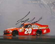 JOEY LOGANO signed NASCAR 8X10  BURNOUT photo with COA A