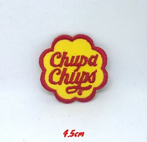 Chupa Chups Single Retro Iron On Sew on Embroidered Patch