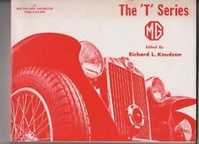 MG THE T SERIES MG RICHARD KNUDSON TA TB TC TD TF TF 1500 YA REFERENCE BOOK 1975