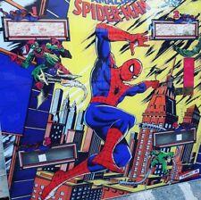 """Flipper backglass """" The amazing Spider-man """" Gottlieb pinball backglass"""