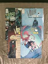 Lot of 5 Video Jack (1987) #1-4 6 VF Very Fine