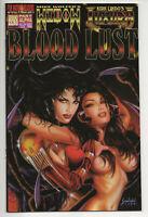 BLOOD LUST ALPHA: LUXURA & WIDOW  #1A VF/NM (Ground Zero 1996) Kirk Lindo Wolfer
