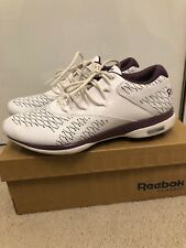 Genuine Reebok Easy Tone white leather trainers, Size UK 4.5