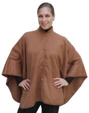 Alpaca Wool Cloak Wrap Cape Poncho, Camel