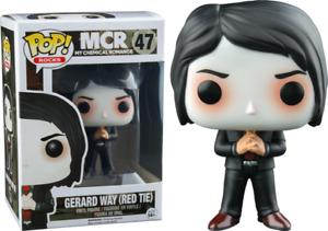My Chemical Romance - Gerard Way with Red Tie Pop Vinyl Figure Funko 9928