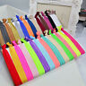 30pcs Girls Elastic Hair Ties Rubber Band Knotted Hairband Ponytail Holder .~