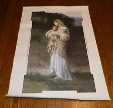 "Mary & Baby Jesus BOUGUEREAU - L'Innocence CANVAS PRINT Sacred Art 12"" x 20"""